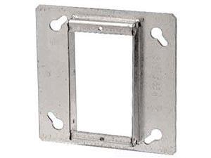 "T & B 52C491/2 4"" Pre-galvanized steel sq. cut tile wall cover, 1/2 inch raised"