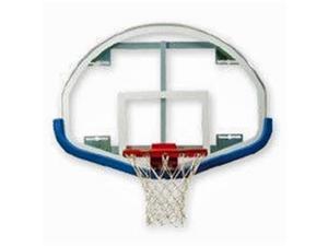 Bison 5152XXXX Bison Fan-Shaped Backboard + Padding Basketball Backboards