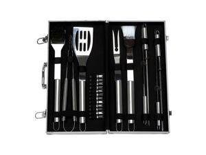 Chefmaster KTBQSS22 Chefmaster 22 Piece Stainless Steel Barbeque Sets