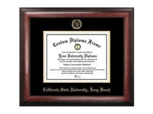 Campus Images Cal State Long Beach Gold Embossed Diploma Frame