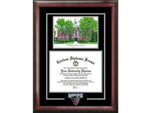 Campus Images Maine University Spirit Graduate Frame With Campus Image