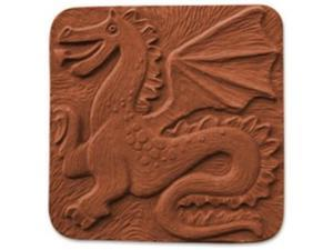 Garden Molds X-DRAG5067 Dragon Stepping Stone Mold - Pack of 2