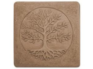 Garden Molds X-TREE8053 Tree of Life Stepping Stone Mold - Pack of 2