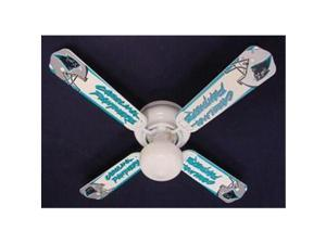 Ceiling Fan Designers 42FAN-NFL-CAR NFL Carolina Panthers Football Ceiling Fan 42 In.