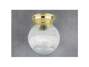 Westinghouse Lighting 8533800 8 in. Prism Glass Globe Shade - Pack of 6