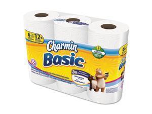 Procter & Gamble 85982 TISSUE,CHARMIN BASIC 8/6