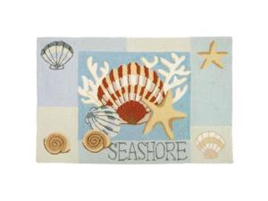 Homefires PY-JB052 Key West Clam Shell Rug
