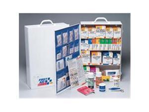 4 Shelf Industrial Station - 1059 Piece - Metal Cabinet with 20 Pocket Vinyl Liner - 1 Ea.