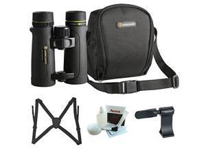Vanguard Endeavor ED II 10x42mm Binoculars with Harness Accessory Kit