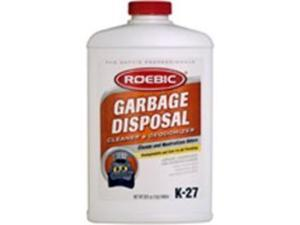 Garbage Disposal Cleaner Qt ROEBIC LABORATORIES Specialty Cleaners K-27-Q
