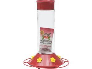 Hummingbird Glass Feeder 30Oz Woodstream Bird Feeders 209-6 078978210899