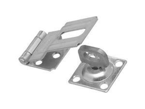 "4-1/2"" Stainless Steel Swivel Safe Hasp National Closet Hardware N348-854"