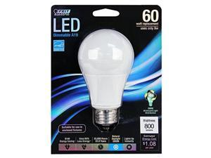 60W Equivalent A19 5000K Dimmable Led Feit Electric Light Bulbs BPOM60/850/LED