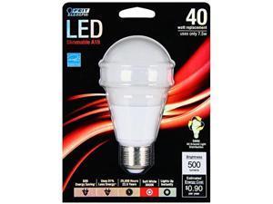 A19 3000K Dimmable Led, 40W Feit Electric Light Bulbs BPOM40/830/LED