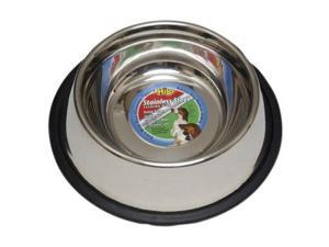 16 Oz Stainless Steel Hilo Dog Dish Non Skid Boss Pet Products Pet Supplies
