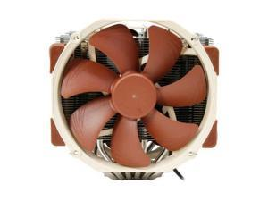 Noctua NH-D15 140mm 12V CPU Cooler for Intel LGA2011 (Square ILM), LGA1156, LGA1155, LGA1150 AMD AM2, AM2+, AM3, AM3+, FM1, FM2, FM2+ (backplate required) Retail