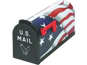 #1 US FLAG POLY MAILBOX T-R 6530US