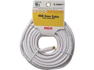 50' WHT COAX CABLE VHW112RV