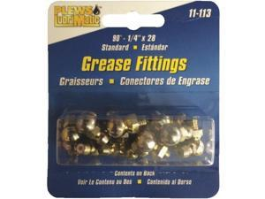 "1/4"" 90D GREASE FITTING 11-113"