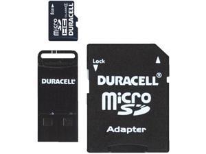 8GB MICRO SD MEMORY CARD DU-3IN1-08G-R