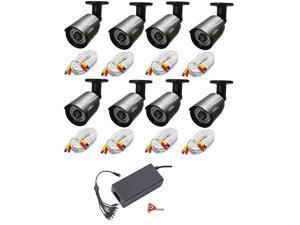 Q-SEE QCA7209B HD 720p Bullet Camera Heritage/Analog -8PK