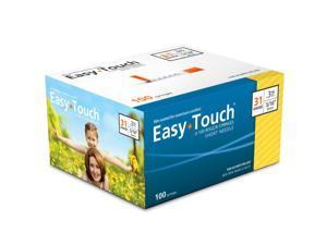 Easy Touch Insulin Syringes 31 Gauge .3cc 5/16 in - 100 ea