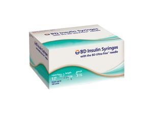 BD Ultra-Fine Insulin Syringes 30G 1cc 1/2 in - 90 ea