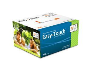 Easy Touch Insulin Syringes 29 Gauge 1cc 1/2 in - 100 ea