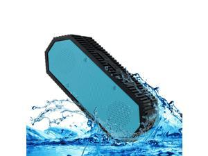 Denali Audio Aqua Tank IPX7 Waterproof Portable Bluetooth Speaker, Blue