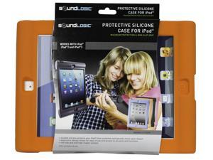 SoundLogic XT Protective Silicone Case for iPad, iPad 2, & iPad 3, Orange