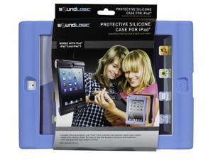 SoundLogic XT Protective Silicone Case for iPad, iPad 2, & iPad 3, Blue