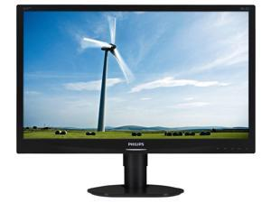 "PHILIPS 231S4QCB/00 Black 23"" 14ms (GTG) Widescreen LED Backlight LCD Monitor - IPS"