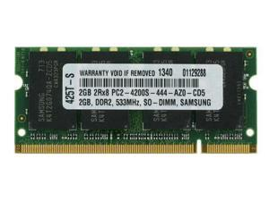 2GB PC2-4200 533MHz MEMORY FOR ACER ASPIRE ONE D250-0BK