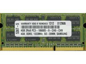 4GB PC3-10600 1333MHz MEMORY FOR HP ELITEBOOK 8740W