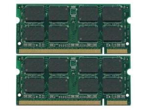 4GB (2X2GB) DDR2-667MHz PC2-5300  Unbuffered Non-ecc 200-Pin DDR2 SODIMM MEMORY for Laptop Computers  MEMORY FOR DELL LATITUDE D630C