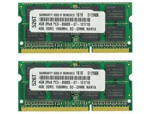 8GB KIT (2X4GB) MEMORY PC3-8500 1066MHz MEMORY FOR DELL STUDIO XPS 1647