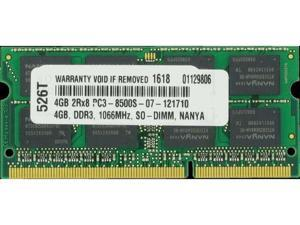 4GB PC3-8500 1066MHz MEMORY FOR DELL VOSTRO V13