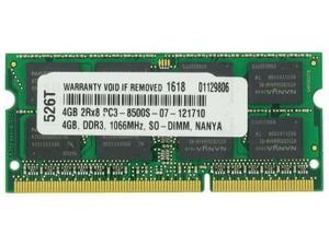 4GB MEMORY PC3-8500 1066MHz MEMORY FOR LENOVO THINKPAD 2242