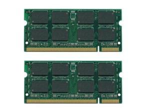 4GB Kit (2X2GB) DDR-667MHz PC2-5300 200-Pin SODIMM  Unbuffered Non-ecc Memory for DELL INSPIRON 1525