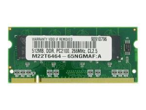 512MB PC2100 266MHz  MEMORY FOR SONY VAIO PCG-FRV33
