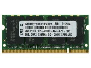 2GB  PC2-4200 533MHz MEMORY FOR HP PAVILION TX1000Z  Shipping From US