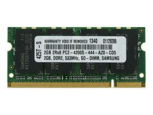 2GB PC2-4200 533MHz MEMORY FOR TOSHIBA TECRA 193