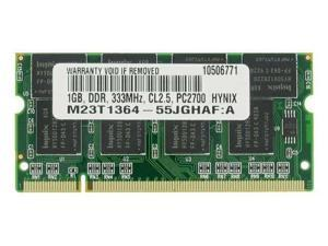 1GB PC-2700 333MHz MEMORY FOR DELL Inspiron 1150