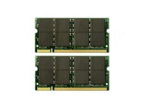2GB Kit (2x1GB)  SODIMM - DDR Memory For HP Pavilion zv5000
