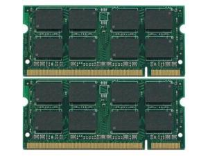 2GBKIT (2x1GB) DDR2 RAM 200-Pin SODIMM Memory For Dell Inspiron 1501 shipping from US