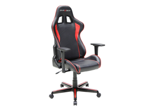 dxracer formula series ohfh08nr newedge edition racing bucket seat office chair pc gaming chair computer chair vinyl desk chair with pillows