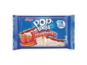 Pop Tarts Frosted Strawberry 3.67 oz 2/Pack 6 Packs/Box