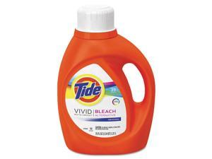 Laundry Detergent with Bleach, 75 oz Bottle, Original Fresh Scent 13788