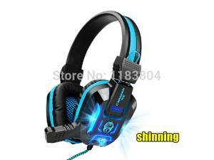 Top Quality Stereo Led Shinning Gaming Headset Headphone With Microphone With Microphone Razer Gamer Msn Hot Sale Pc Headset