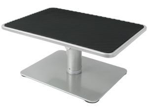 universal height adjustable ergonomic computer monitor and laptop riser stand
